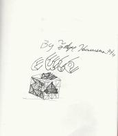 Sketchbook page featuring drawings by Felipe Herrera.
